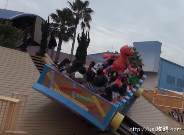アトラクションランキング(エルモのゴーゴー・スケートボード)