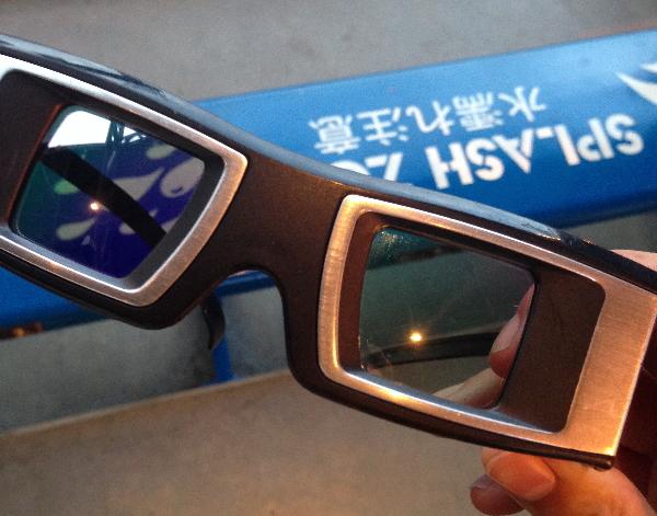 ワンピースプレミアショーの3D眼鏡