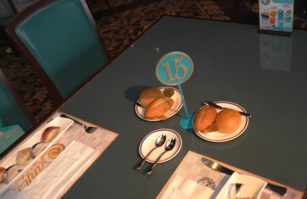 サンジの海賊レストランのテーブルNo