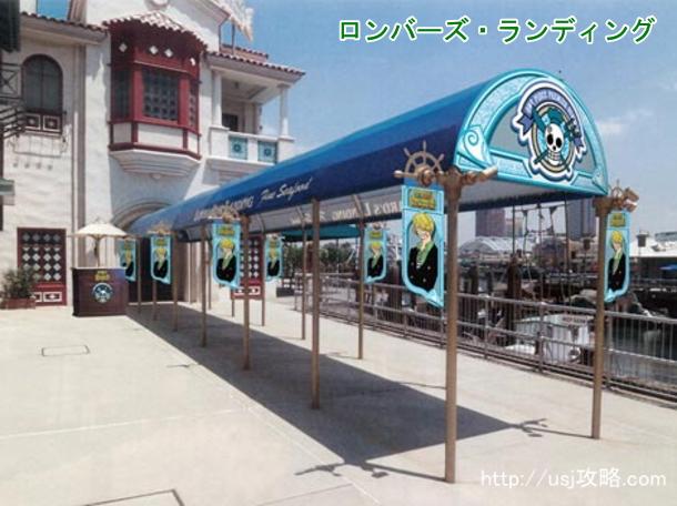サンジの海賊レストランの受付手順