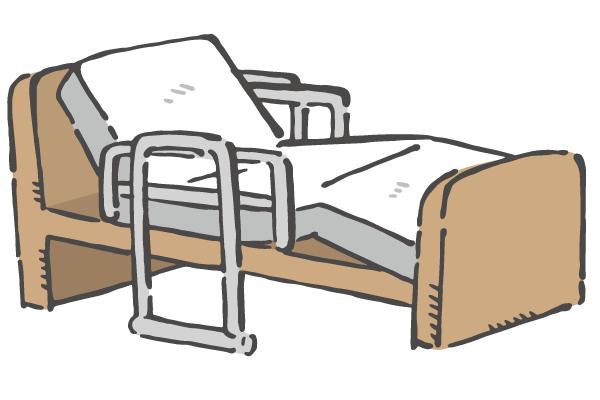 トラウマ2のベッド