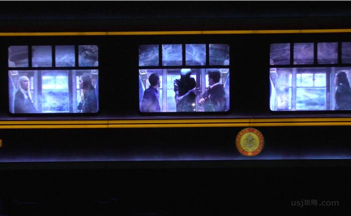 ホグワーツエクスプレスの乗客席
